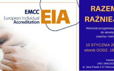 Warsztat przygotowujący do akredytacji coacha/mentora EMCC EIA
