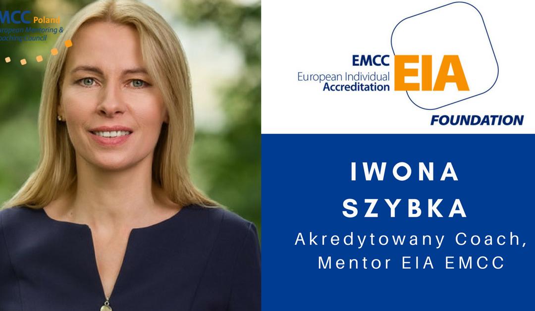 Iwona Szybka Akredytowany Coach Mentor EIA EMCC