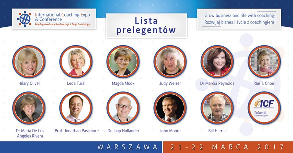 Zniżka na konferencję ICF Warszawa 2017