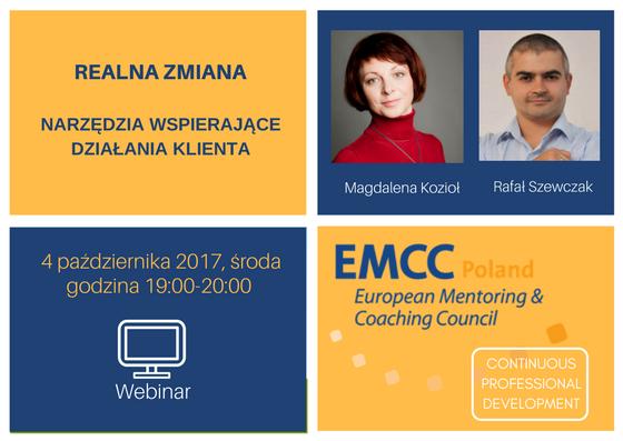 Realna zmiana - webinar EMCC