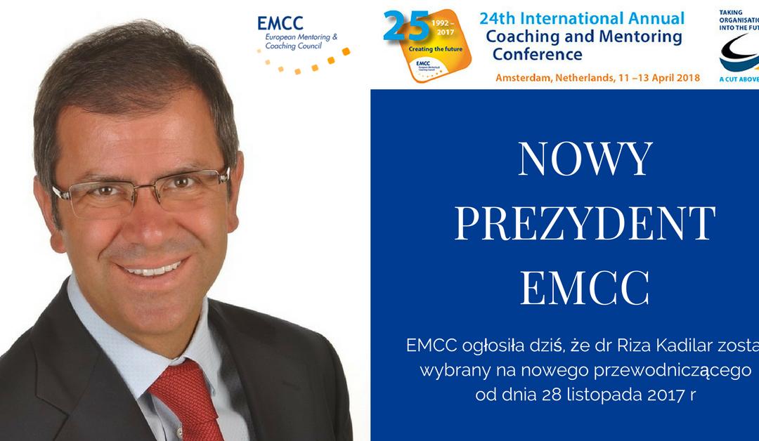 Nowy prezydent EMCC