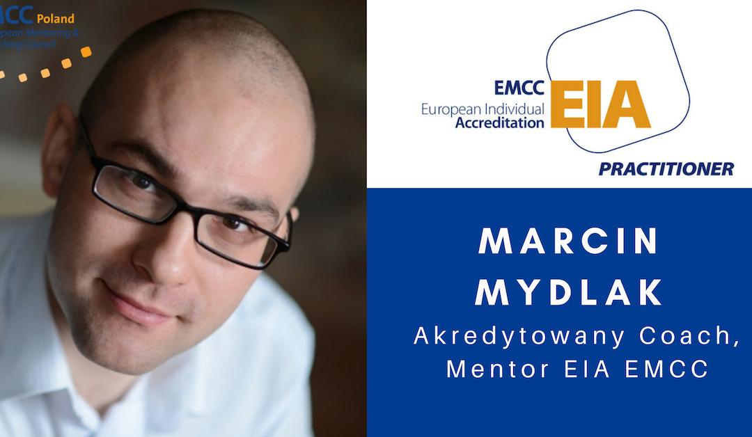 Marcin Mydlak Akredytowany Coach Mentor EIA EMC