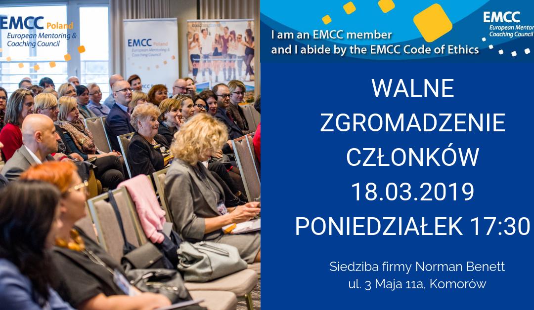 Walne Zgromadzenie Członków Stowarzyszenia EMCC Poland