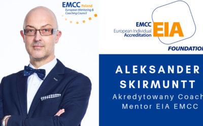 Akredytowany Coach i Mentor Aleksander Skirmuntt