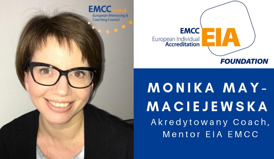 Akredytowany Coach i Mentorka Monika May-Maciejewska