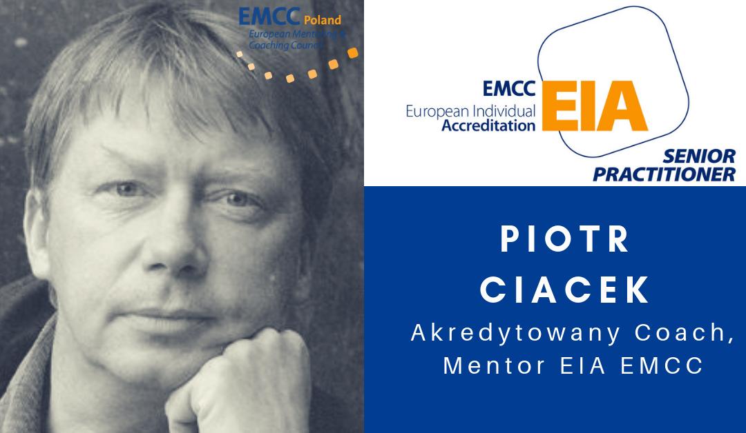 Akredytowany Coach i Mentor Piotr Ciacek