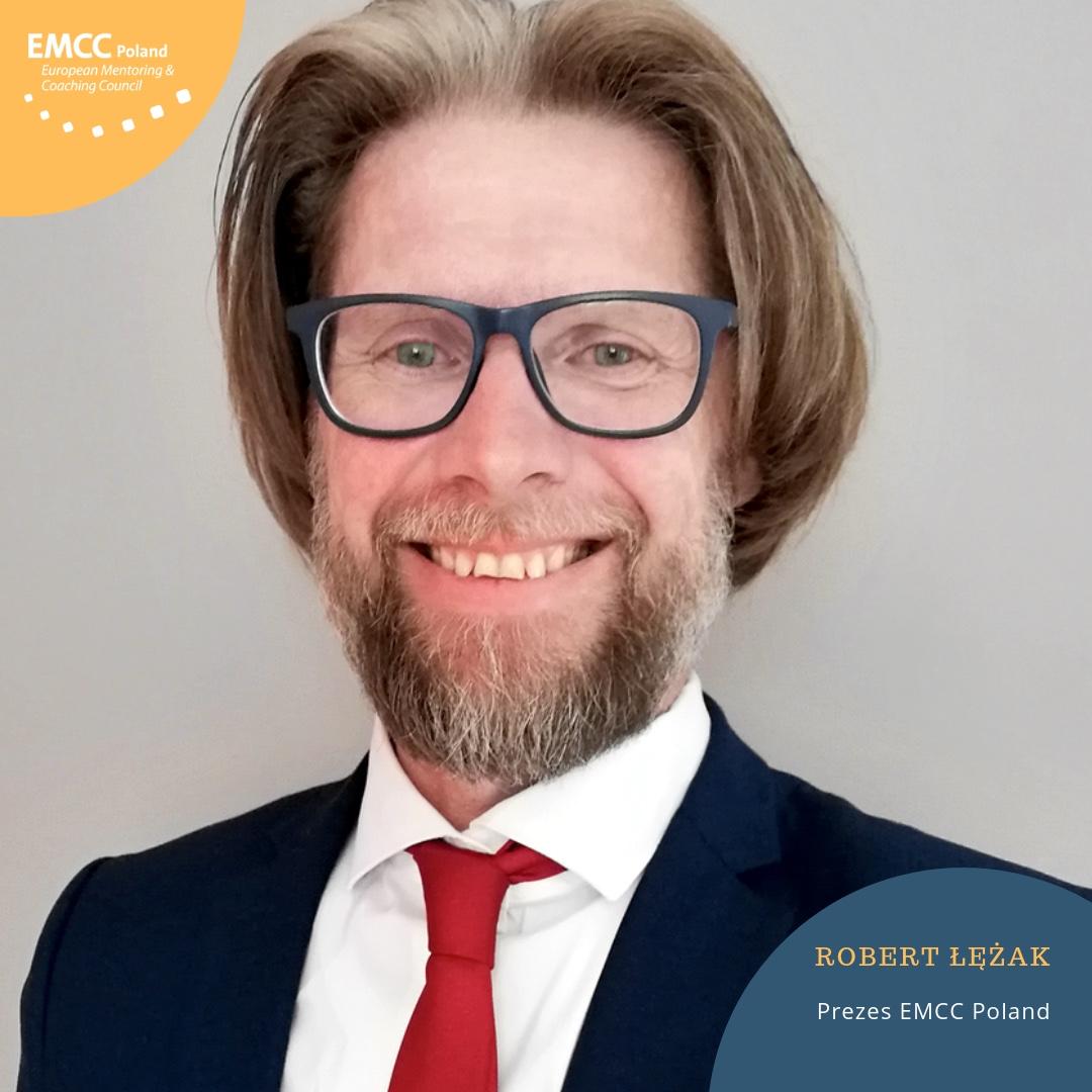 Robert Łężak - Akredytowany Mentor Coach EIA EMCC