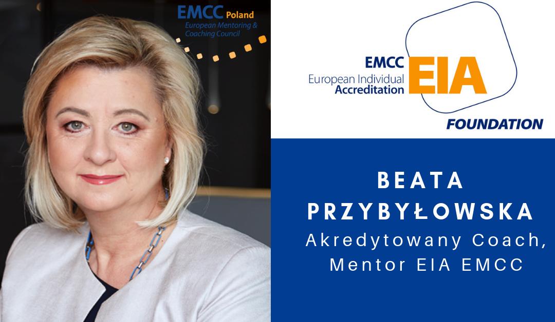 Akredytowany Coach, Mentor Beata Przybyłowska