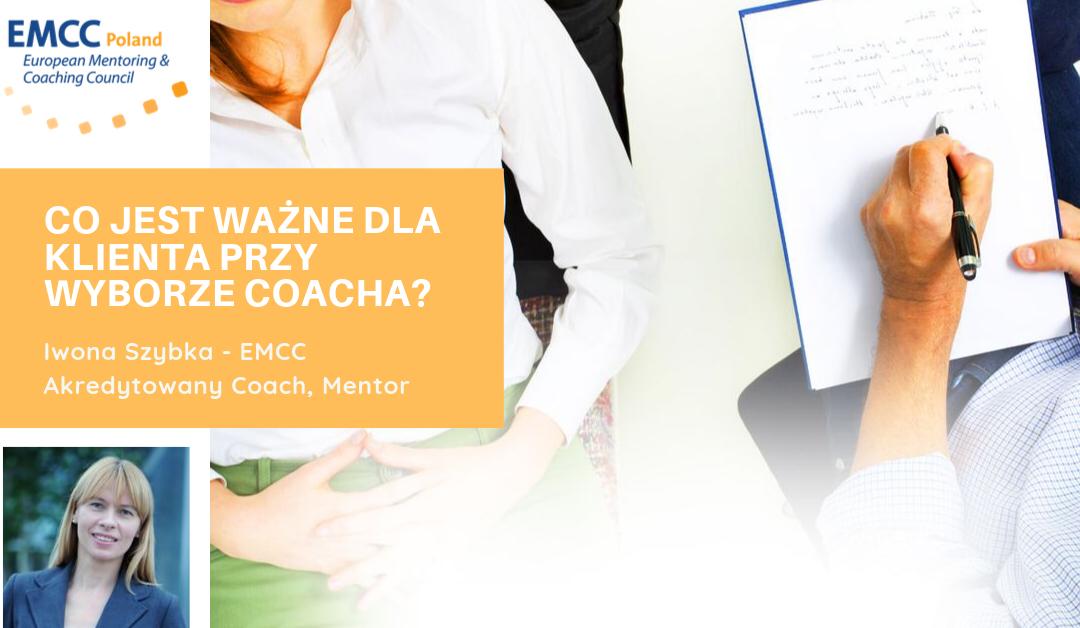 Co jest ważne dla klienta przy wyborze coacha?