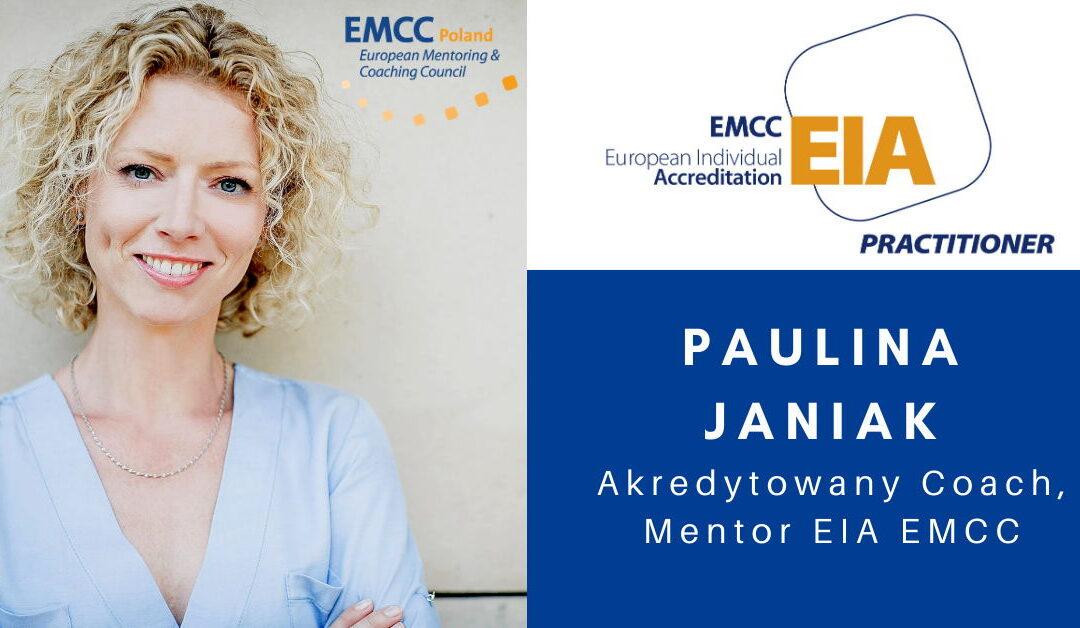 Paulina Janiak Akredytowany Coach i Mentor