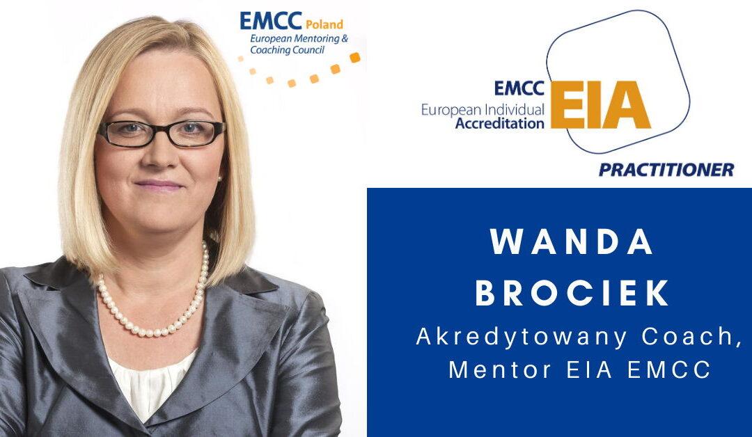 Wanda Brociek Akredytowany Coach i Mentor