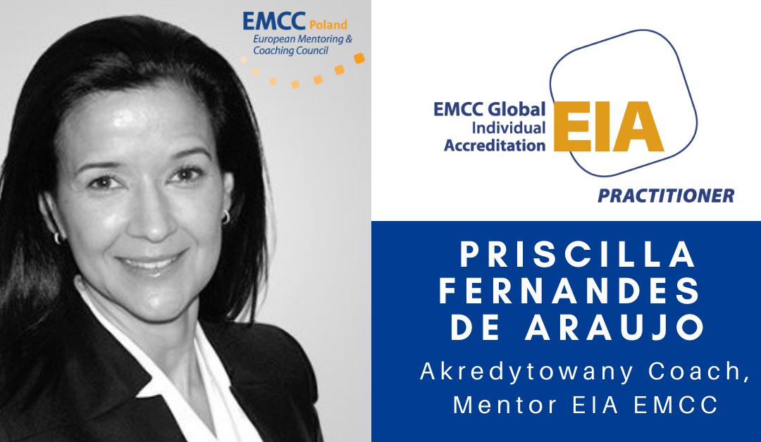 Priscilla Fernandes de Araujo akredytowany coach i mentor