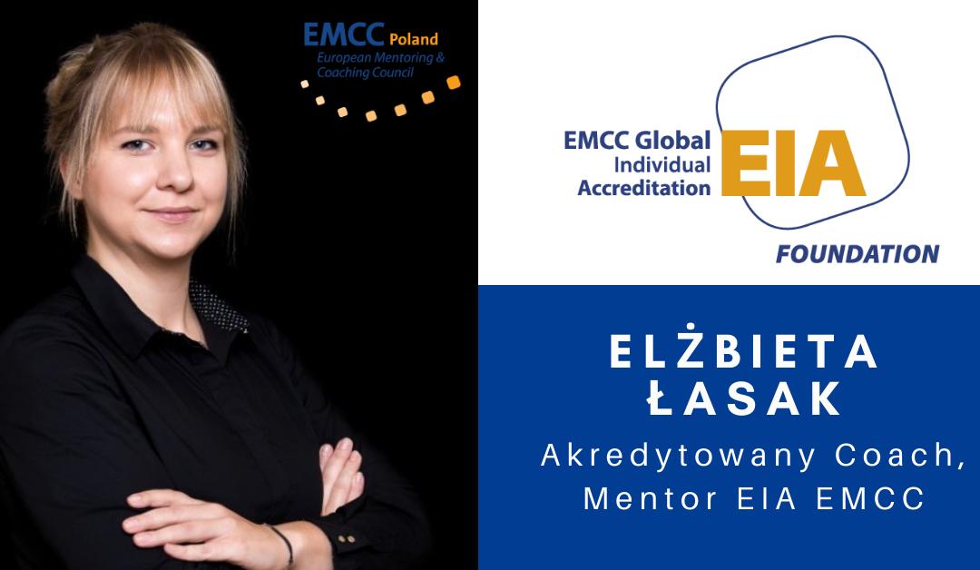Elżbieta łasak akredytowany coach i mentor
