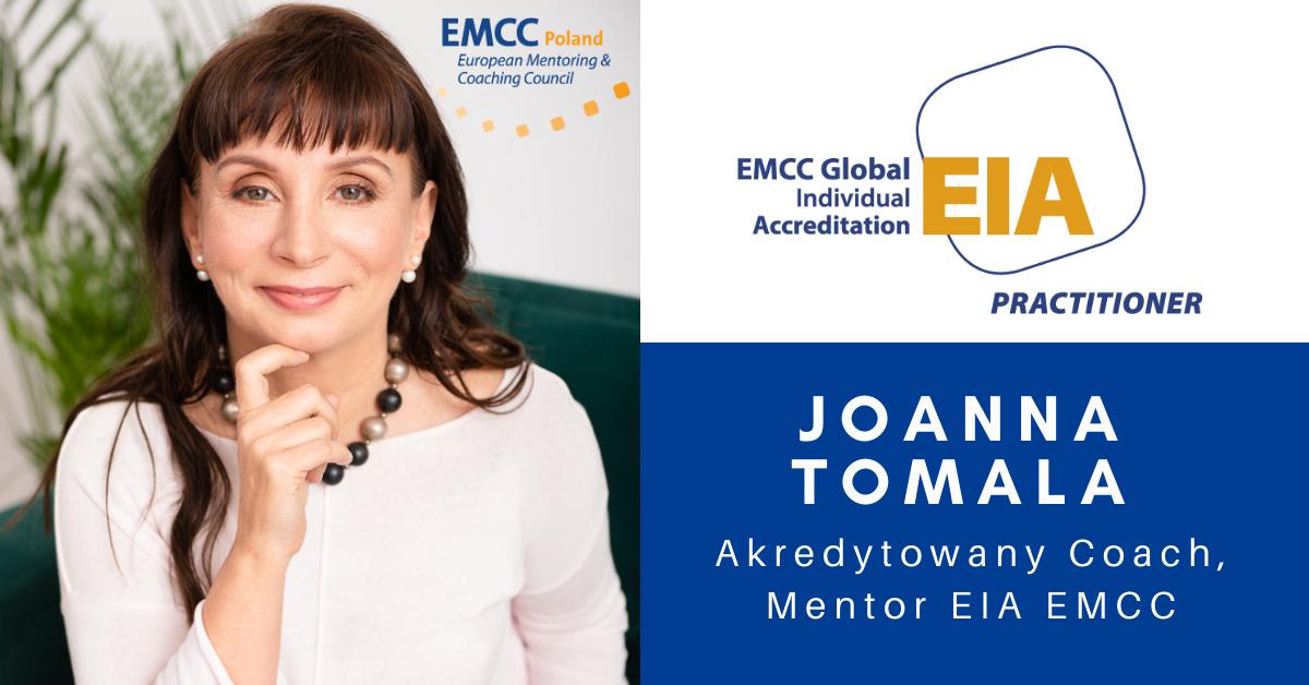 Joanna Tomala akredytowany cach i mentor
