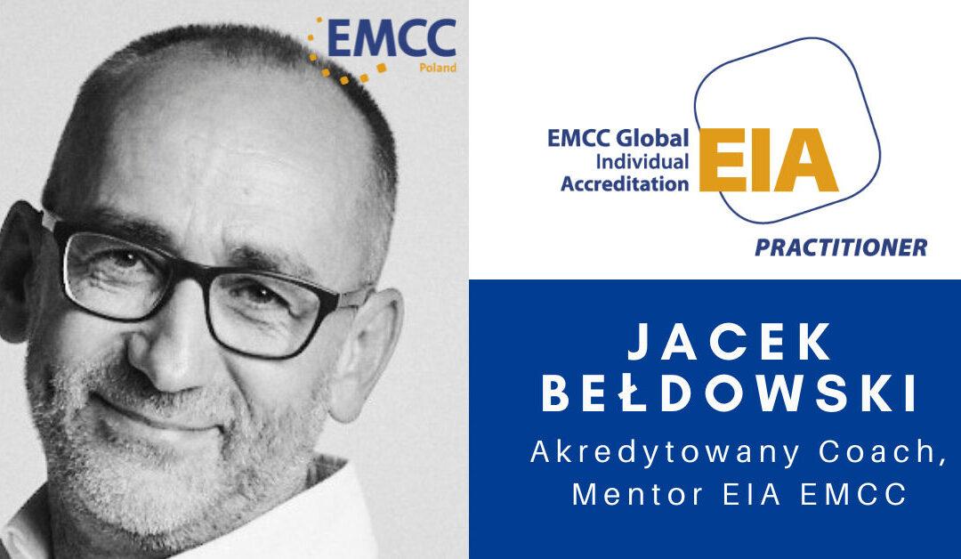 Jacek bełdowski akredytowany coach i mentor EMCC