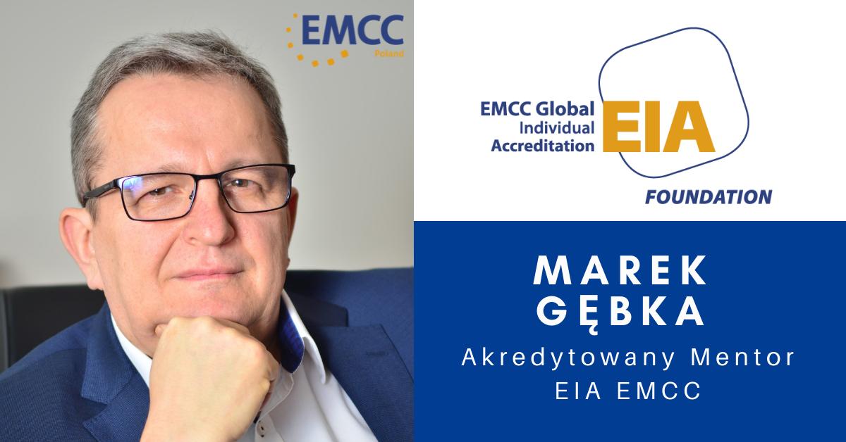 Marek Gębka akredytowany mentor EMCC