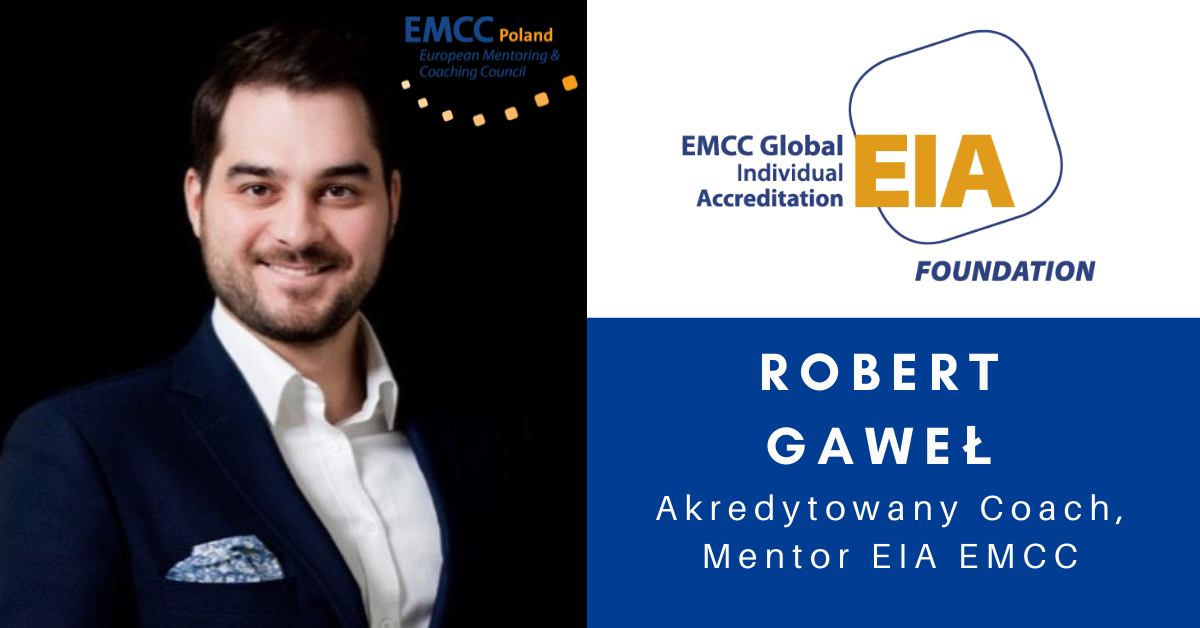 Robert Gaweł akredytowany coach i mentor EMCC
