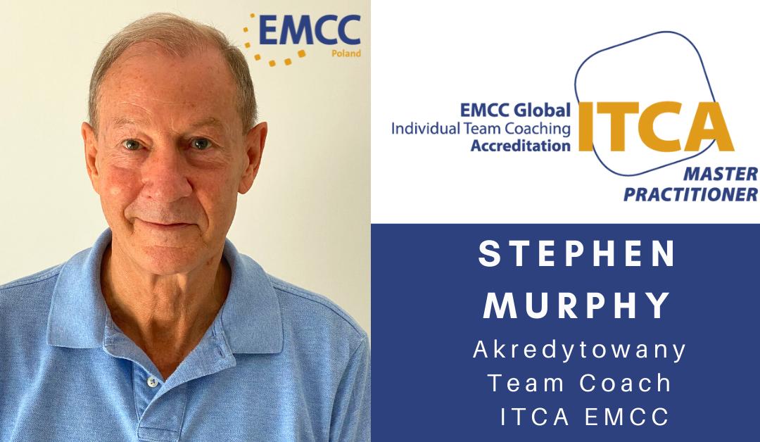 Stephen Murphy akredytowany team coach i superwizor EMCC