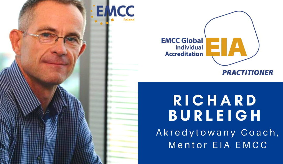 Richard Burleigh akredytowany coach emcc